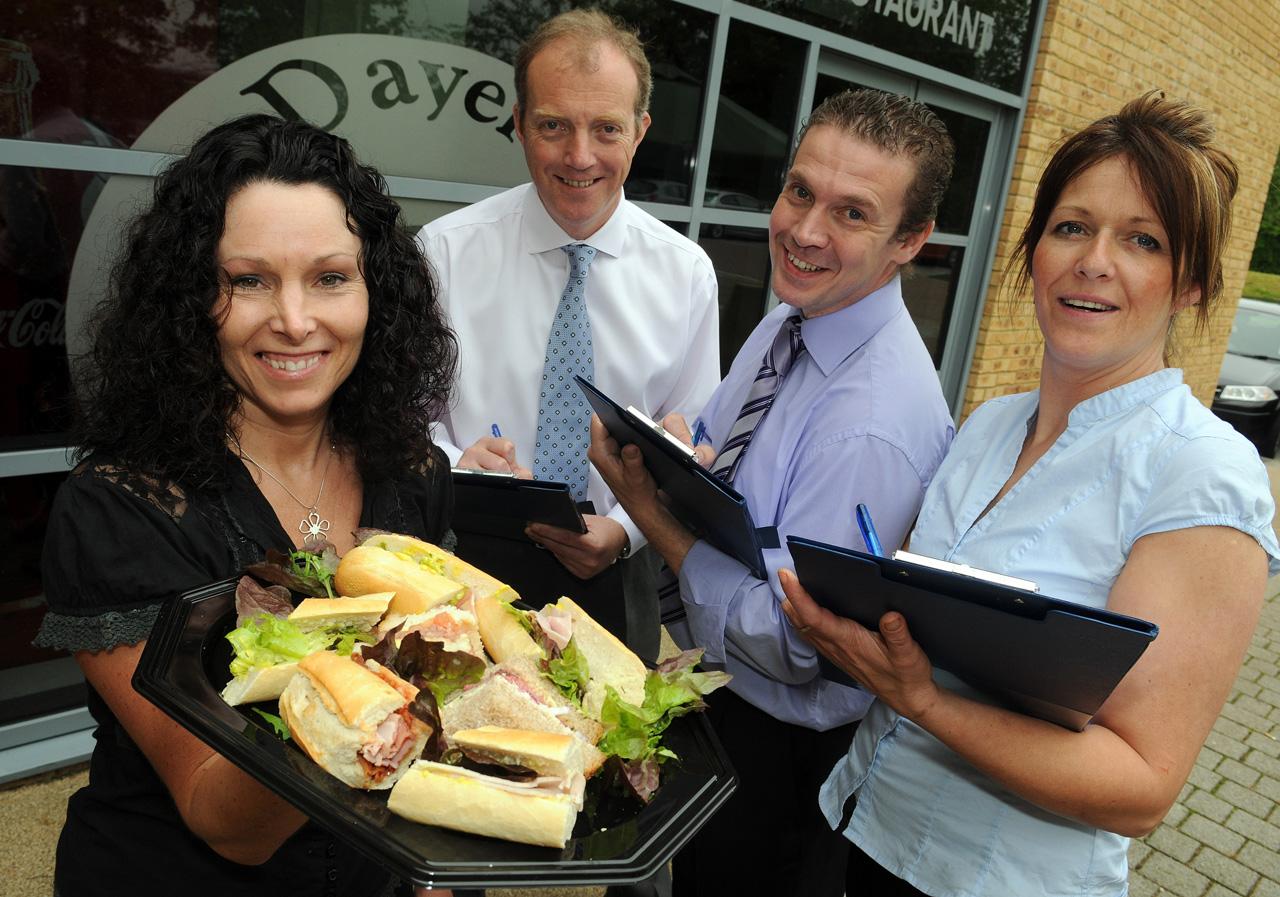 Chineham Park Basingstoke sandwich