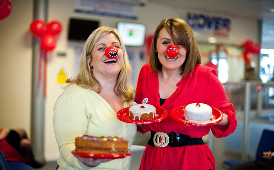SRF PR Agency Red Nose Campaign
