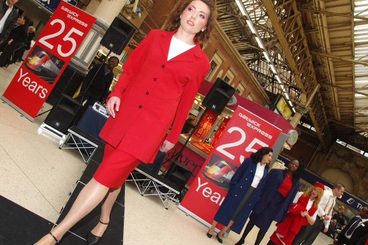 New Uniform Fashion Show at Victoria Station