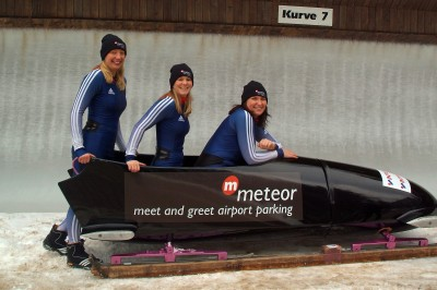 Meteor Meet and Greet Parking's Bobsleigh Sponsorship